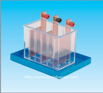 Experimental device of electrochemical equivalent of copper
