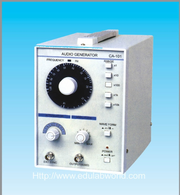 Audio Signal Generator : Audio signal generator electrics and electronics